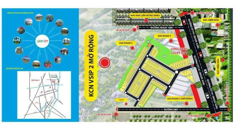 Vị trí và tiện ích khu nhà ở Toàn Thắng - Vĩnh Tân
