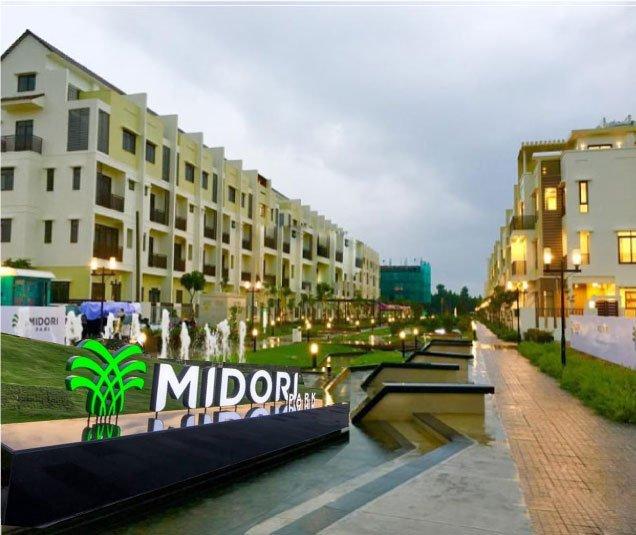 dự án midori park thành phố mới Bình Dương